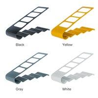 1 X Metal Four Lattice Remote Storage Rack TV DVD VCR Step Remote Control Mobile Phone
