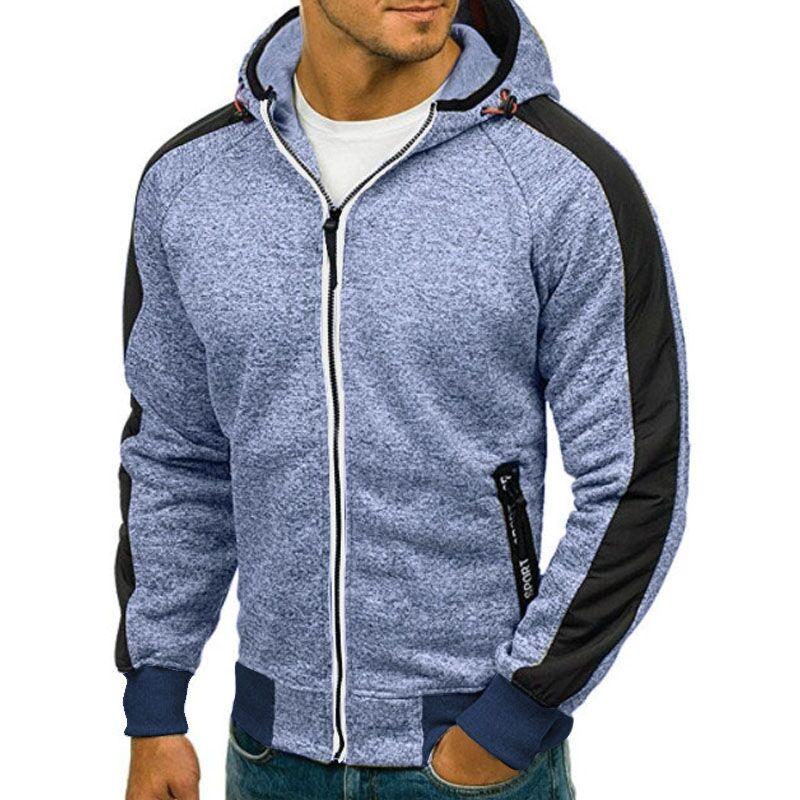 Hoodie 2018 Brand Hoodies Men Long Sleeve Solid Color Hooded Sweatshirt Mens Hoodie Tracksuit Sweat Coat Casual Male Sportswear