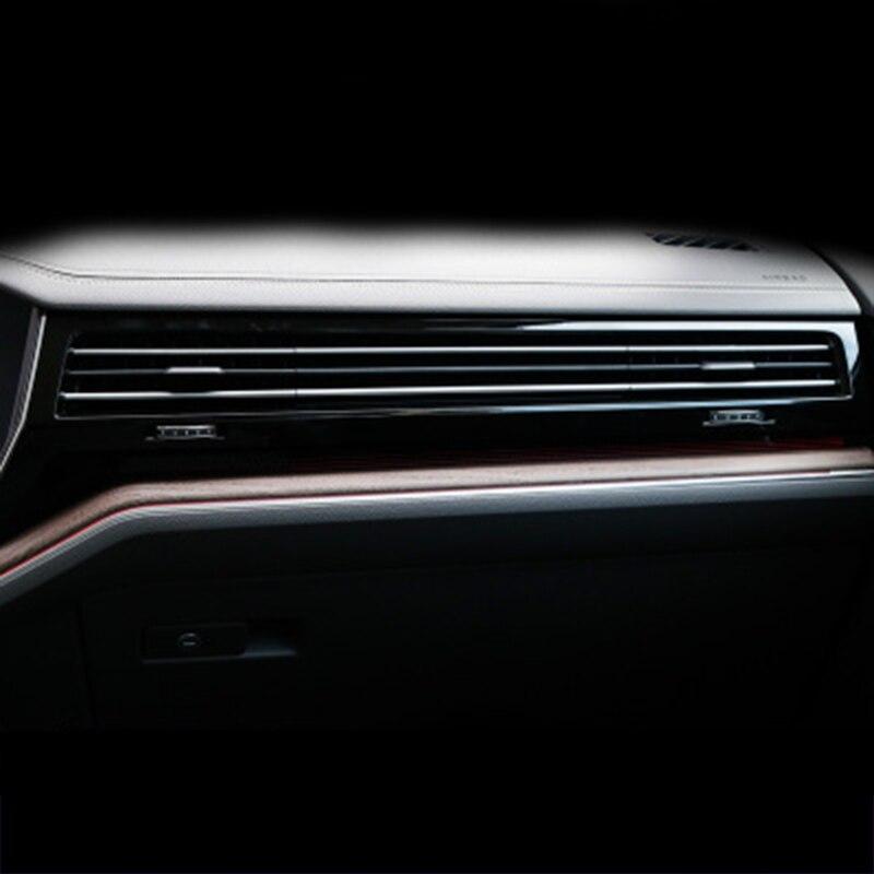 Lsrtw2017 transparente TPU interior do carro anti-scratch protetor de cinema para volkswagen touareg 2019 2020