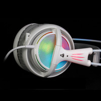 Xibter Real 7 1 Sound Card USB Headset Glowing Allstar E Sports Gaming Headphones With Mircophone