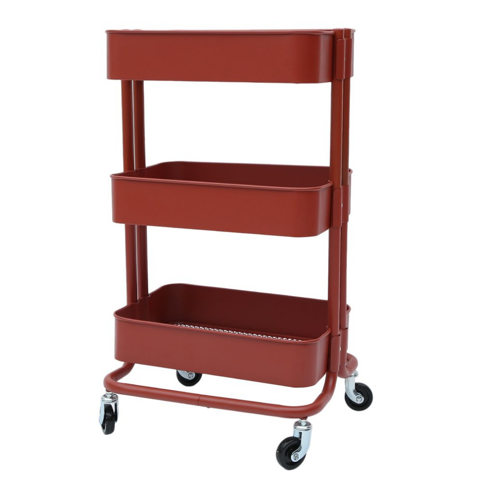 цена на Newest 3 Tiers Salon Hairdressing Rolling Trolley Storage Cart Spa Beauty Salon Barber Tool Hairdresser Equipment