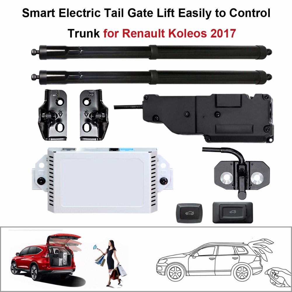 Electric Tail Gate Lift for Renault Koleos 2017 Control by Remote