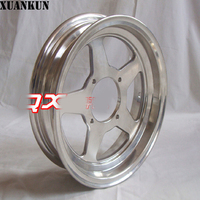 XUANKUN Monkey Bike Monkey Motorcycle Modified Accessories 12 Inch Aluminum Alloy Wheels 2.50 12