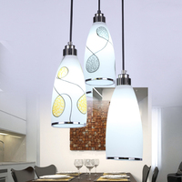 Modern brief pendant lamp restaurant lamp crystal pendant light restaurant lamp lamps lighting