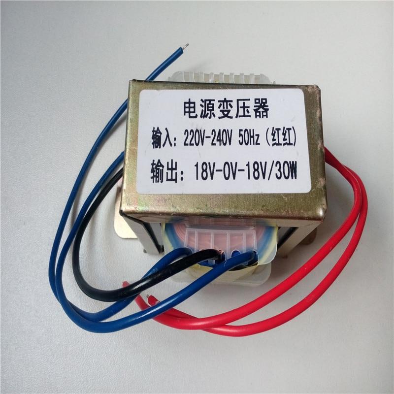 Transformateur 30VA sortie double 9 V 12 V 15 V 18 V 24 V 30 W pour préamplificateur conseil pré-amplificateur conseil préampli amplificateur