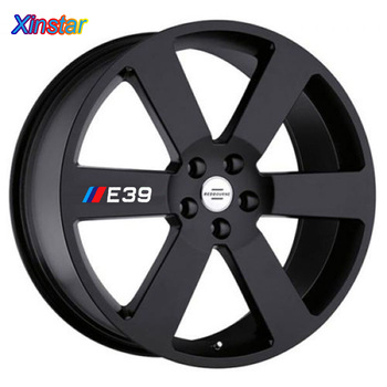 4pcs/lot NEW M power performance E30 E34 E36 E39 E46 E60 E90 LOGO car rim sticker for BMW image
