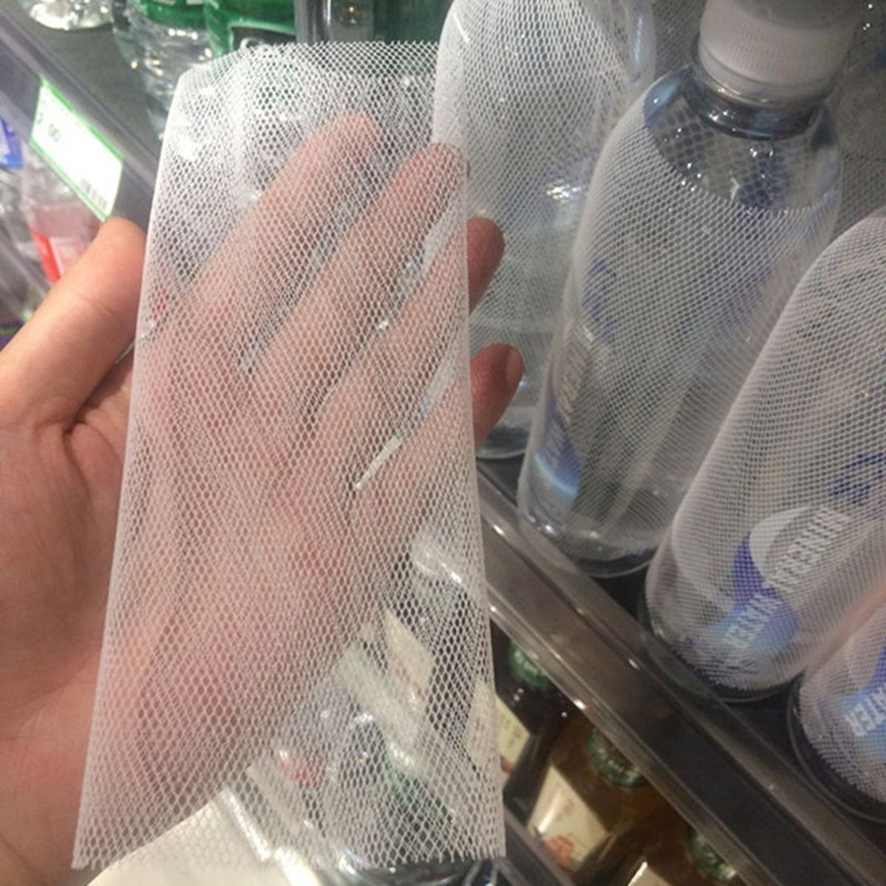 50pcs! Practical  PE Plastic Wine Bottle Netting  To Prevent The Friction Of The Bottle,drink Packaging Decoration.