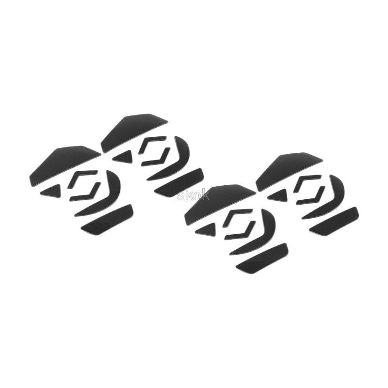 4 компл. 0.6 мм тефлон Мышь Средства ухода за кожей стоп Мышь коньки площадку для Logitech G502 лазерной Мышь M23 дропшиппинг