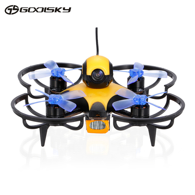 GoolSky Waterproof RC Drone F90 Pro 90mm5.8G 40CH600TVL FPV Racing Drone Brushless Motor F3 Flight Controller Frsky Receiver BNF