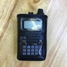Porta estojo macio de couro original de CSC 91 para yaesu VX 6R walkie talkie de VX 6E