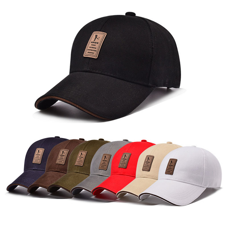 SUOGRY Men Cotton Casual Summer Hats Men Snapback   cap   Casquette Bone Gorras Hot Sale Cheap Brand   Baseball     Caps