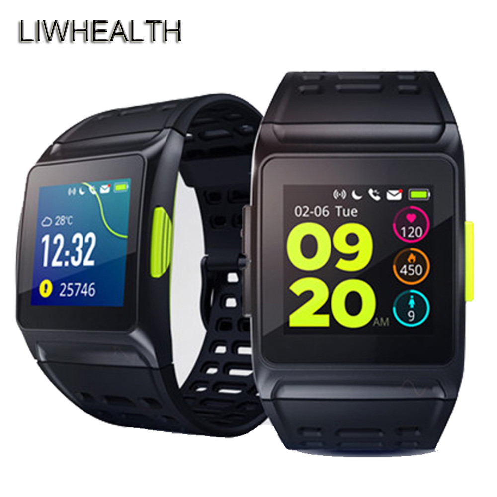 New Sportwatch GPS Smart Watch Activity Tracker Heart Rate Monitor Montre Connnect Smartwatch For APPLE/Huawei/Xiaomi PK KW88 uwatch new smart watch heart rate monitor waterproof hot christmas gifts for xiaomi huawei iphone 5 5s 6 6s pk