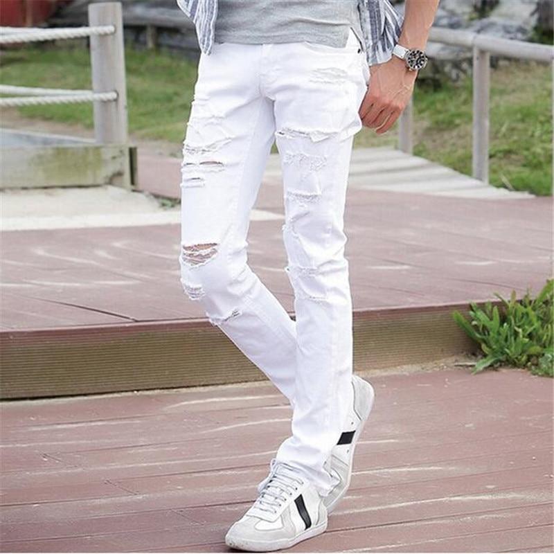 Destroyed Skinny Jeans For Men
