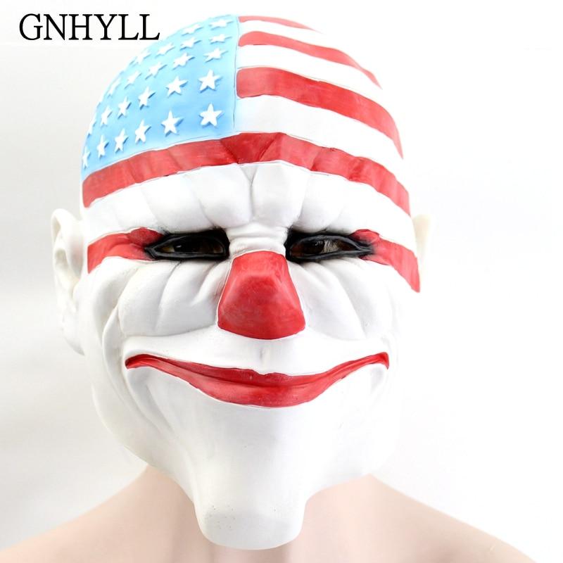 GNHYLL Máscaras de Halloween para la fiesta de disfraces Máscara de - Para fiestas y celebraciones