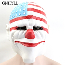 GNHYLL Halloween Masks for Masquerade Party Latex Mask Horrible