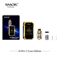 Original SMOK G PRIV 2 Luxe Edition Very Cool Box Mod Kit Electronic Cigarettes 8ml TFV12 Prince Tank Big Touch Vaporizer Vape