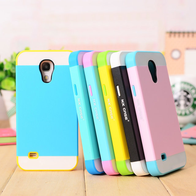 outlet store f754f 0f233 US $3.5 |For Samsung Galaxy S4 mini Case Silicone Hybrid Hard Plastic  Colorful Phone Cases For Samsung Galaxy S4 mini i9190 Cover case-in Fitted  Cases ...