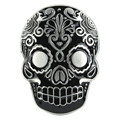 Hot Selling Good Quality Cool Pattern NEW Westerns Men's Belt Buckles Black Skull Men Cowboy Metal