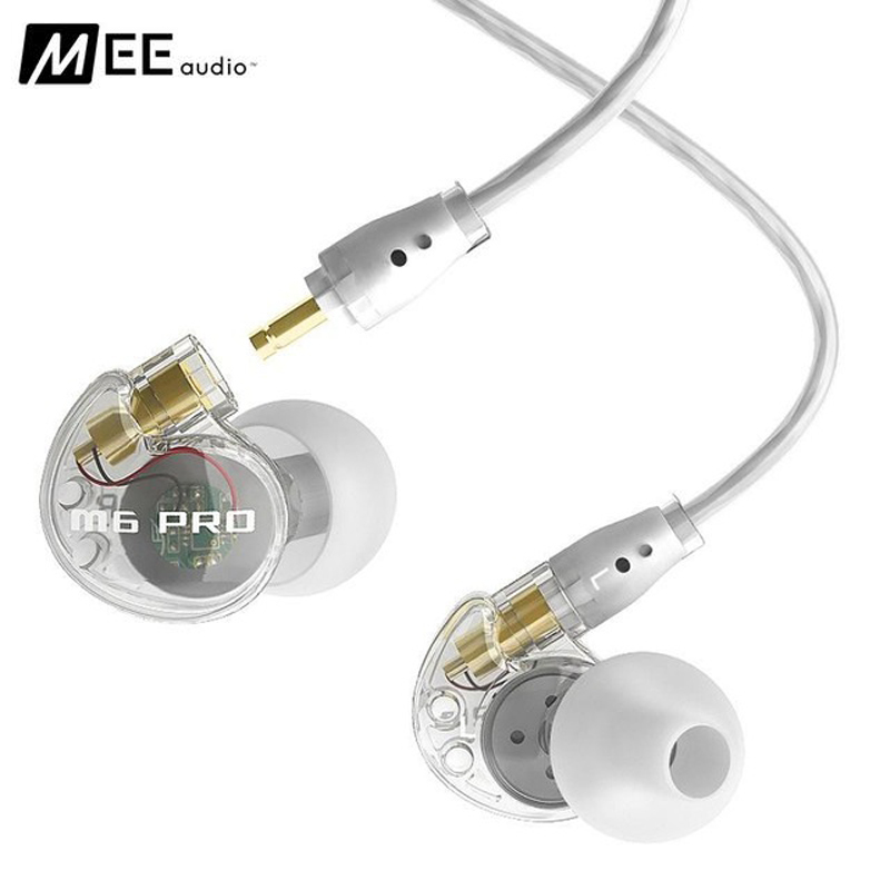 Original M6 PRO Noise Canceling Headphone Earphones Music In-Ear Monitors HIFI Sport DJ Headset With Mic for iPhone xiaomi mp3 remax rm502 wired clear stereo earphones with hd microphone angle in ear earphone noise isolating earhuds for mp3 iphone xiaomi