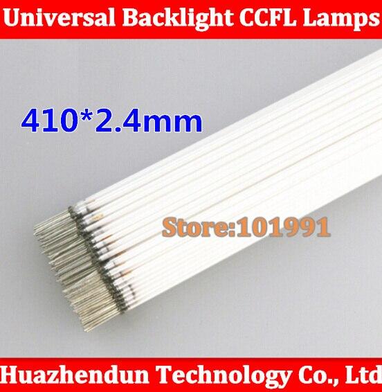 50pcs Super Light NEW 410MM length LCD CCFL lamp backlight tube 410MM 2 4mm 410MM length