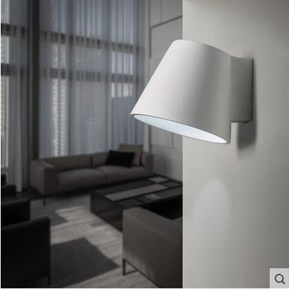 Plaster Sconces Concise Modern LED Wall Lamp Creative Bedside Light Simple Fixtures For Home Lightings Applique