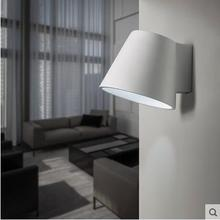 Plaster Sconces Concise Modern LED Wall Lamp Creative Bedside Light Simple Fixtures For Home Lightings Applique Murale Luminaire