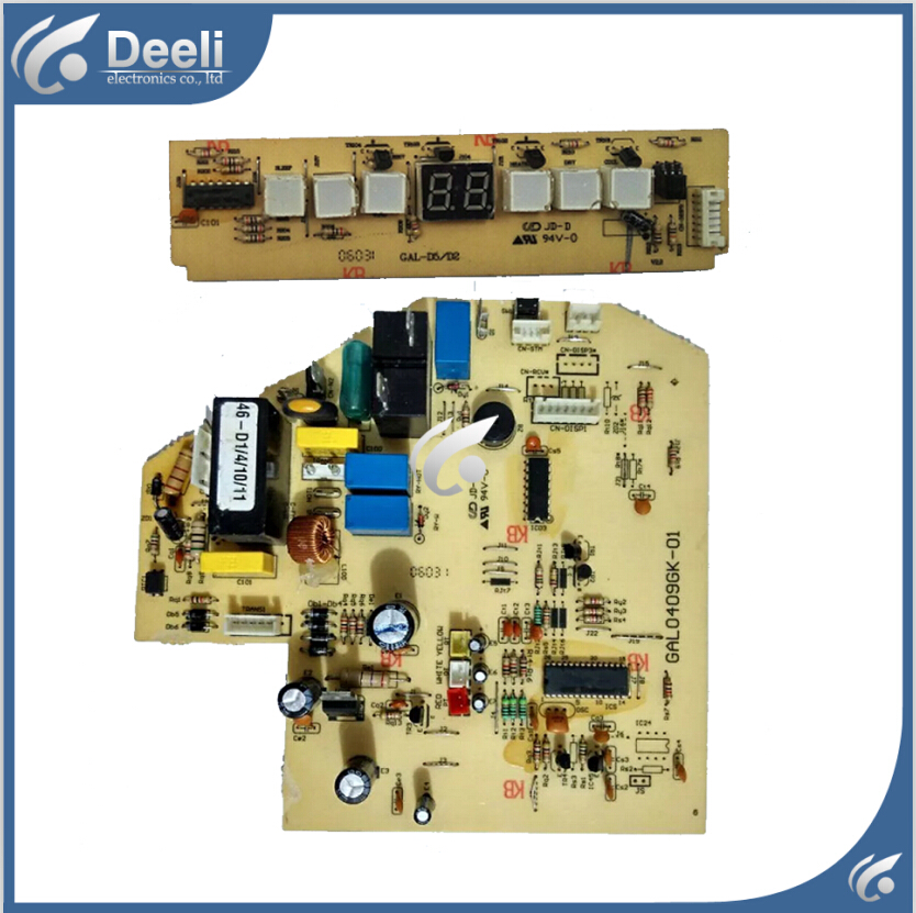 95% new  for air conditioning Computer board GAL0409GK-01 circuit board GAL-D5/D2 2pcs/set95% new  for air conditioning Computer board GAL0409GK-01 circuit board GAL-D5/D2 2pcs/set