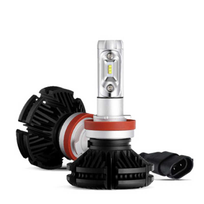 H7 H11 Headlamp H4 Far and Near Light Bulb for Automobile General Ultra-bright LED Bulb X3 Headlamp AT/Automatic Gear