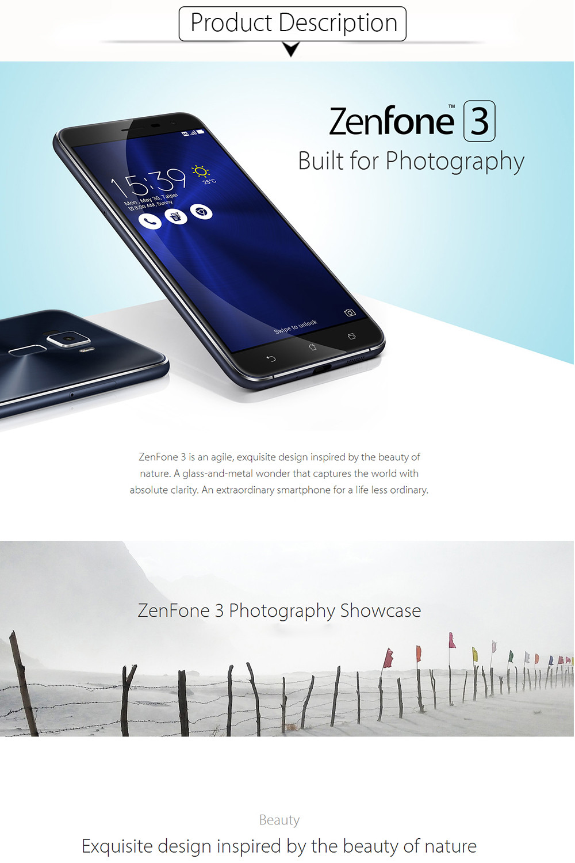 original asus zenfone 3 ze552kl mobile phone android 6 0. Black Bedroom Furniture Sets. Home Design Ideas