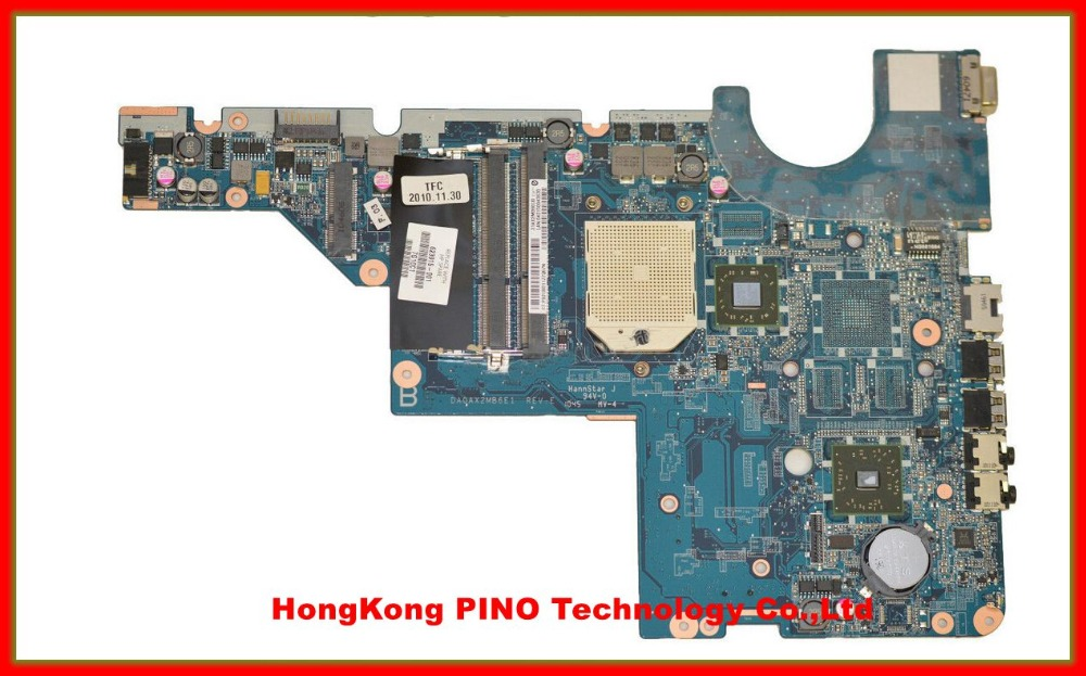 Free Shipping 623915-001 for HP CQ56 G56 CQ62 laptop motherboard DA0AX2MB6E1 REV : E Tested Fully for onda v891w lcd screen display by free shipping 8 9 1920 1200