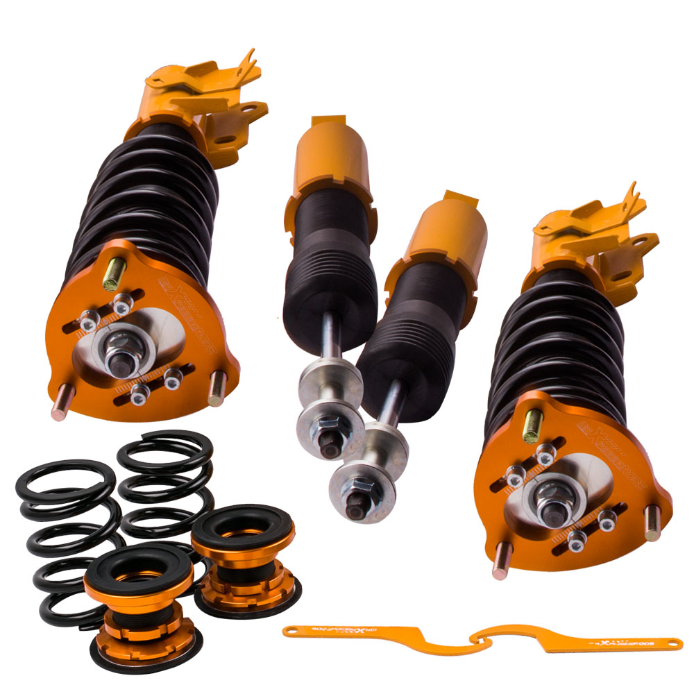 Coilover Suspension Kit For Honda CIVIC FA5 FG2 FG1 06 11 LX EX SI Struts Adj Height Coil Spring
