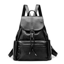 Женские Натуральная кожа рюкзаки бренда Дамская мода рюкзаки для подростков девочек школьные сумки из натуральной кожи дорожные сумки Mochila