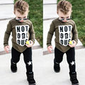 Chic Kid Newborn Outfit Set Infant Baby Boys Clothes Toddler Top+Pants Bodysuit