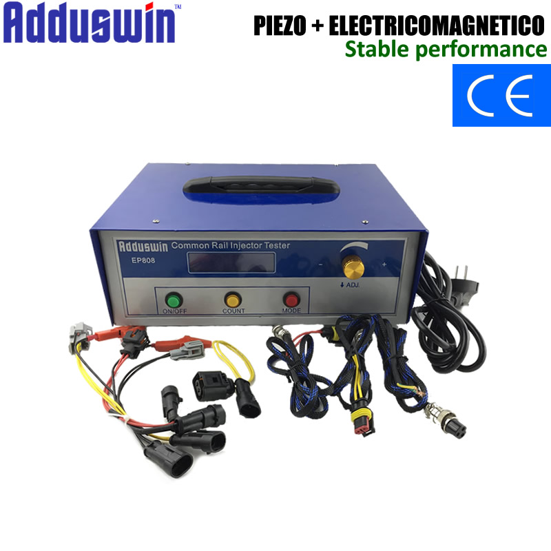 Ingenious Adduswin New Ep808 Diesel Common Rail Injector Tester For Electromagnetic And Piezoelectric Diesel Fuel Piezo Injector Tools Relieving Heat And Thirst. Engine Analyzer