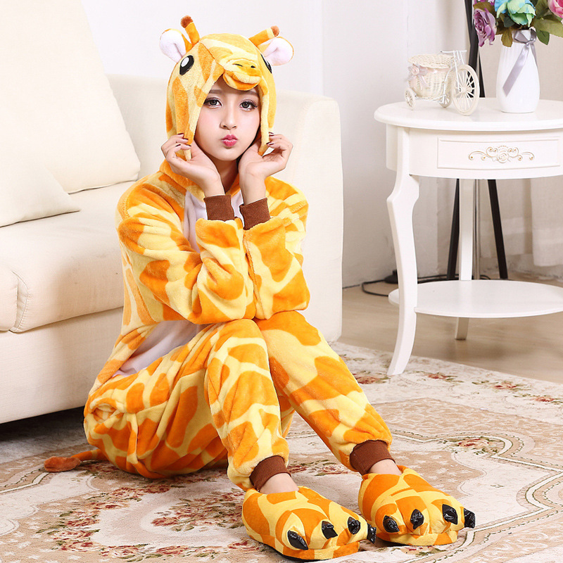 Giraffe adult animal kigurumi