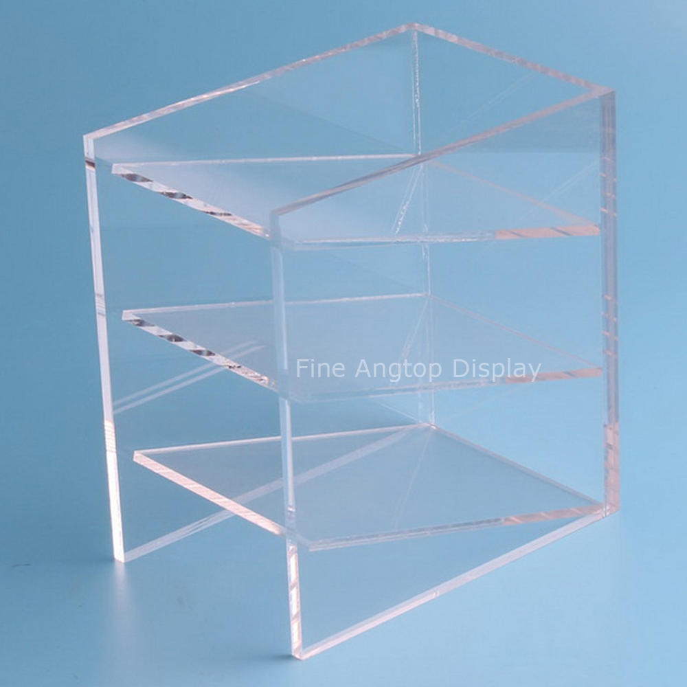 Transparent Acrylic Pen Rack Jewelry Accessories Shelves Small Items Show Eyebrow Pencil Display Shelf Collection Display wt 039 acrylic reservoir w temperature display transparent 0 8l