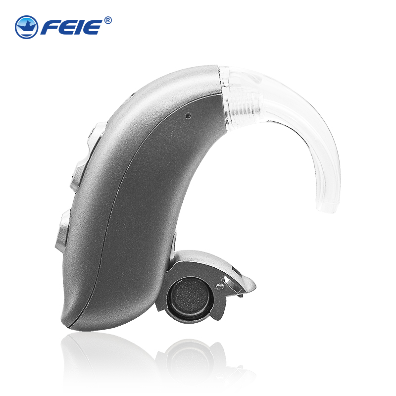 New Digital Hearing Amplifier Hearing Aids Aid Behind The Ear Sound Amplifier Adjustable Tone Best Tone for Profound loss MY-22 digital hearing aids aid behind the ear adjustable sound amplifier 4 channels 16 bands my 15 free shipping