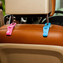 CDCOTN Seat Hook Car Mini Foldable S Back Rotatable Multi-Function Bracket Rear Universal Accessories