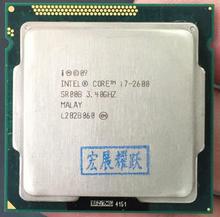Intel Core i7-2600 i7 2600 процессор (8 м кэш, 3,40 ГГц) ШЕСТЬ Core процессор LGA 1155 100% работает должным образом кабельный адаптор