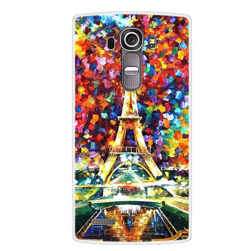 Für LG G4 Fall Weiche Silikon TPU Back cover fashion Design Muster Gemalt Fällen Für LG G4 H815 Telefon Abdeckung coque