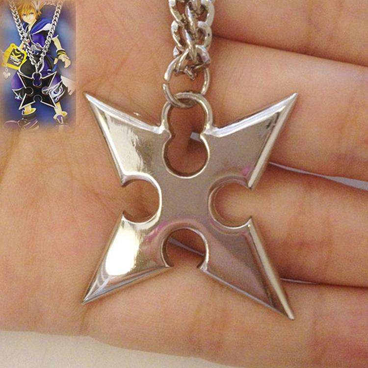 Fashion accessories charm kingdom hearts 48cm perimeter roxas fashion accessories charm kingdom hearts 48cm perimeter roxas alloy animation art pendant metal necklace aloadofball Gallery
