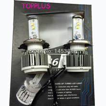 V16 Turbo 40w 80w 45w 4500lm 3600lm H4 hi/lo H1 H3 H7 H10 H11 H13 9005 9006 9007 All in one car led headlight kit Free Shipping