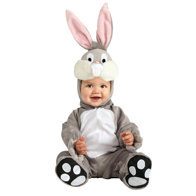 Toddler Mini Rabbit Animal Cosplay Costume for Jumpsuit For Halloween Festival Show
