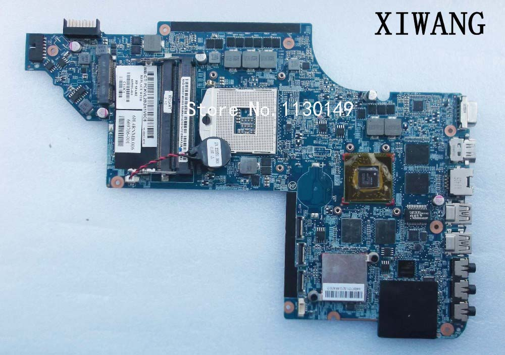 Free shipping laptop motherboard 665991-001 for hp Pavilion DV7 DV7-6000 System Board PCA HM65 6770/2G QUA- DSC,100%Tested! цена 2017