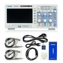 Hantek DSO5072P Цифровой Запоминающий Осциллограф 70 МГц 2 Канала 1GSa/с d Длина 24 К USB DSO 5072 7 «TFT WVGA (800×480) P