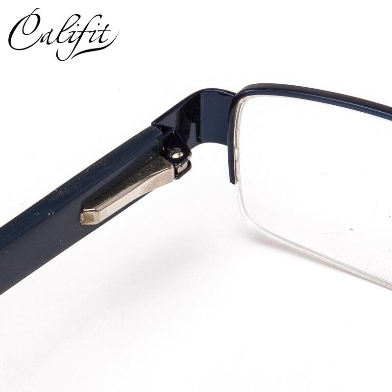 Califit Gläser Optische Rahmen Rechteck C1 Linsen Männer Absolvierte 1 Halb Klar c4 Gafas Hombre 56 Progressive c2 Photochrome c3 De BrqBtwg