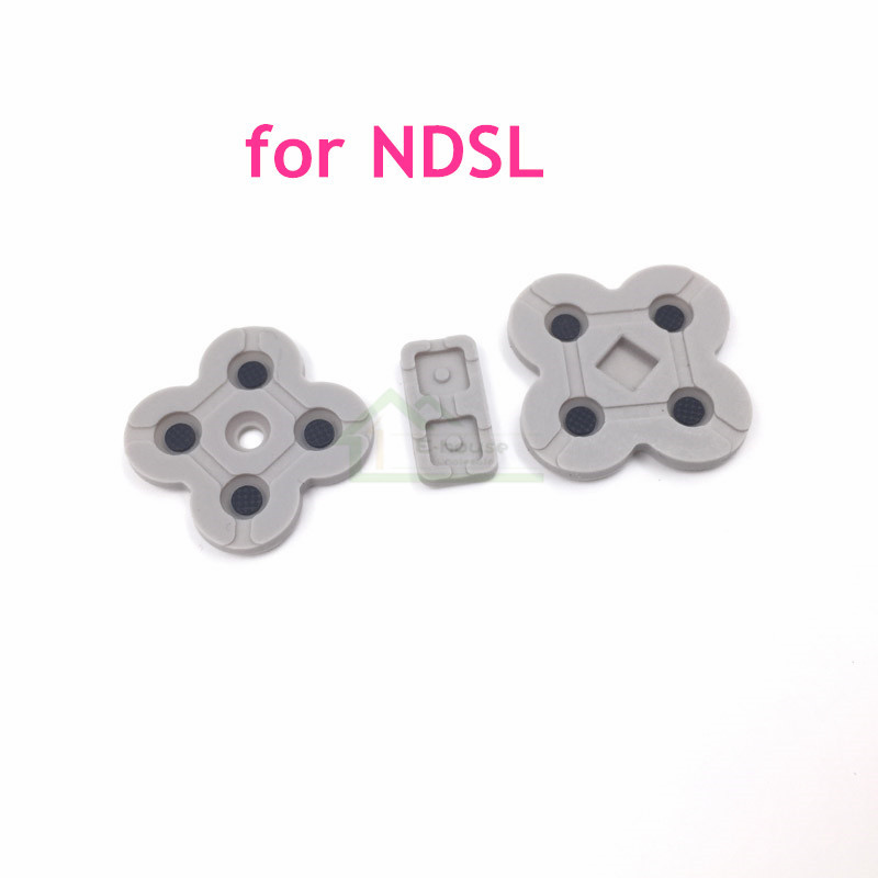 High Quality Conductive Rubber Pads Replacement for DS Lite for NDSL Game Console
