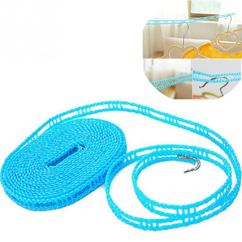 5M Nylon Clotheslines Portable Outdoor Travel Business Clothesline Washing  Clothes Line Rope(China (Mainland