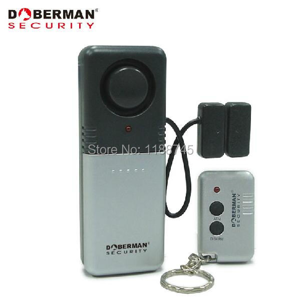Doberman Dog 50m Magnetic Home Security Alarm With Remote Control