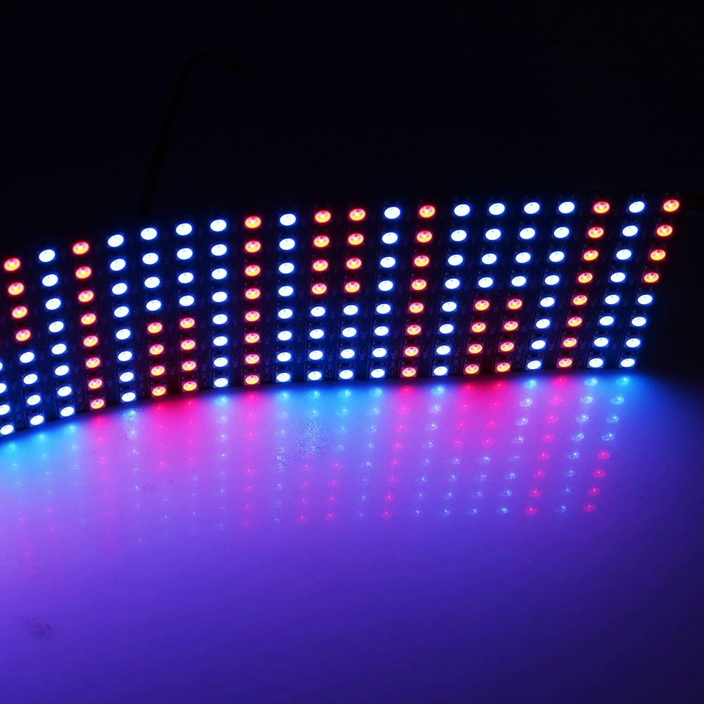 DC5V 8*32 Pixel 256 Pixels WS2812B Digital Flexible LED Programmed Panel Screen Individually Addressable Full Color 1pcs/LOT электрическая беговая дорожка body sculpture bt 5510